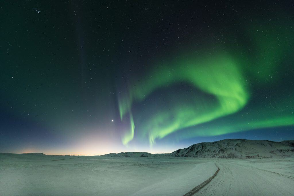 Perfect Aurora landscape - Iceland photographic tours