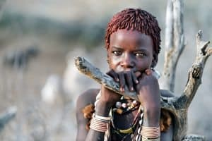 Beautiful young Hamar girl