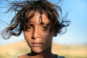 Bedouin girl, Socotra