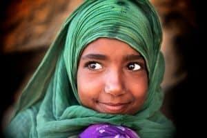 Bedouin smile