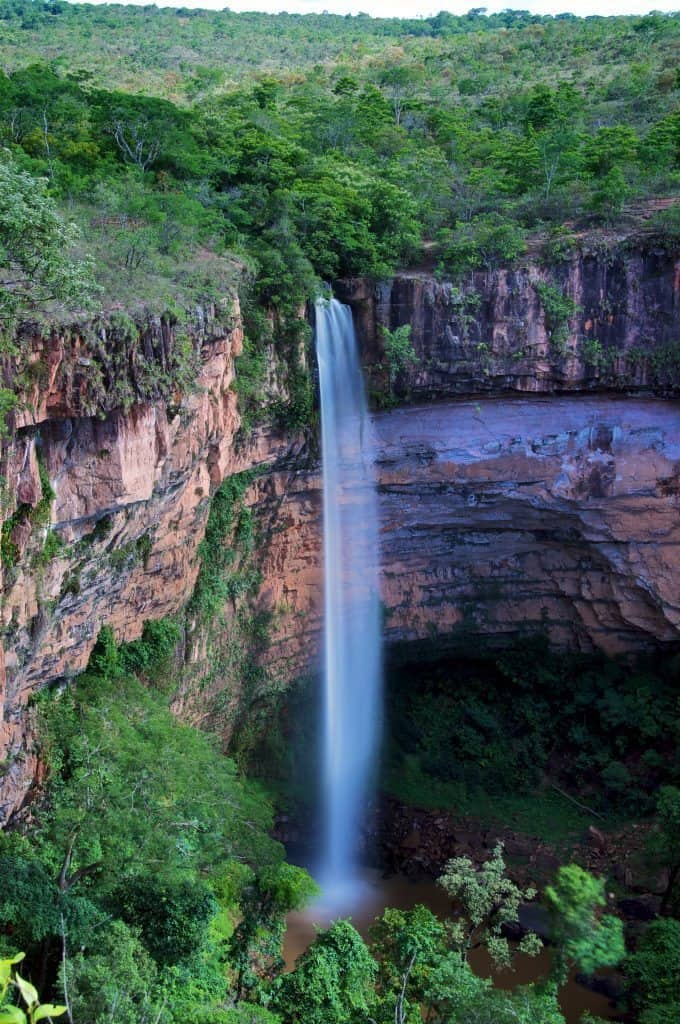 Brazil longterm exposure waterfall
