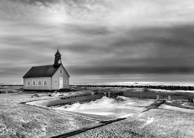 Church landscape photography