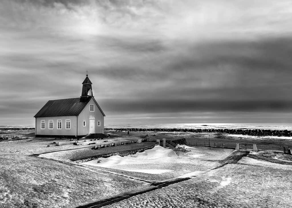 Church landscape photography