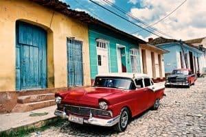 Cuban car classics, Trinidad Latin America
