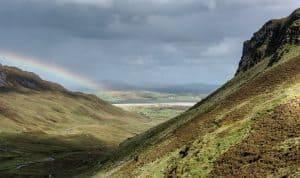 Glenesh Pass - Mountain Range