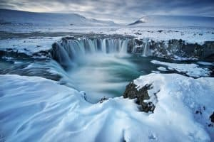 Godafoss – the waterfall of the Gods