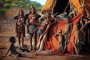 Himba family clan