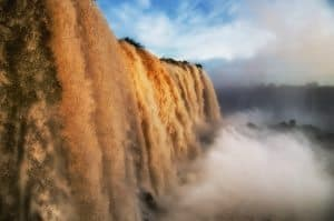 Iguacu at sunset