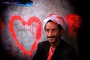 Yemeni man, Sanaa