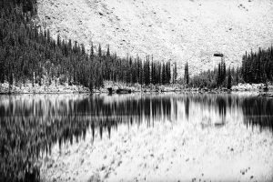 The lake – Moraine, Alberta