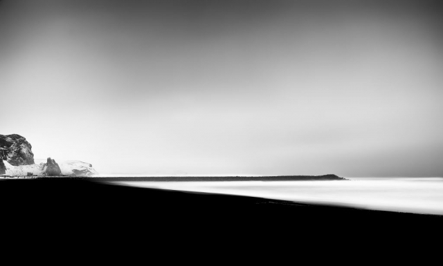 Iceland Vik - High contrast photography
