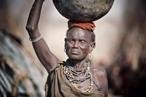 Tribal life, a hard life