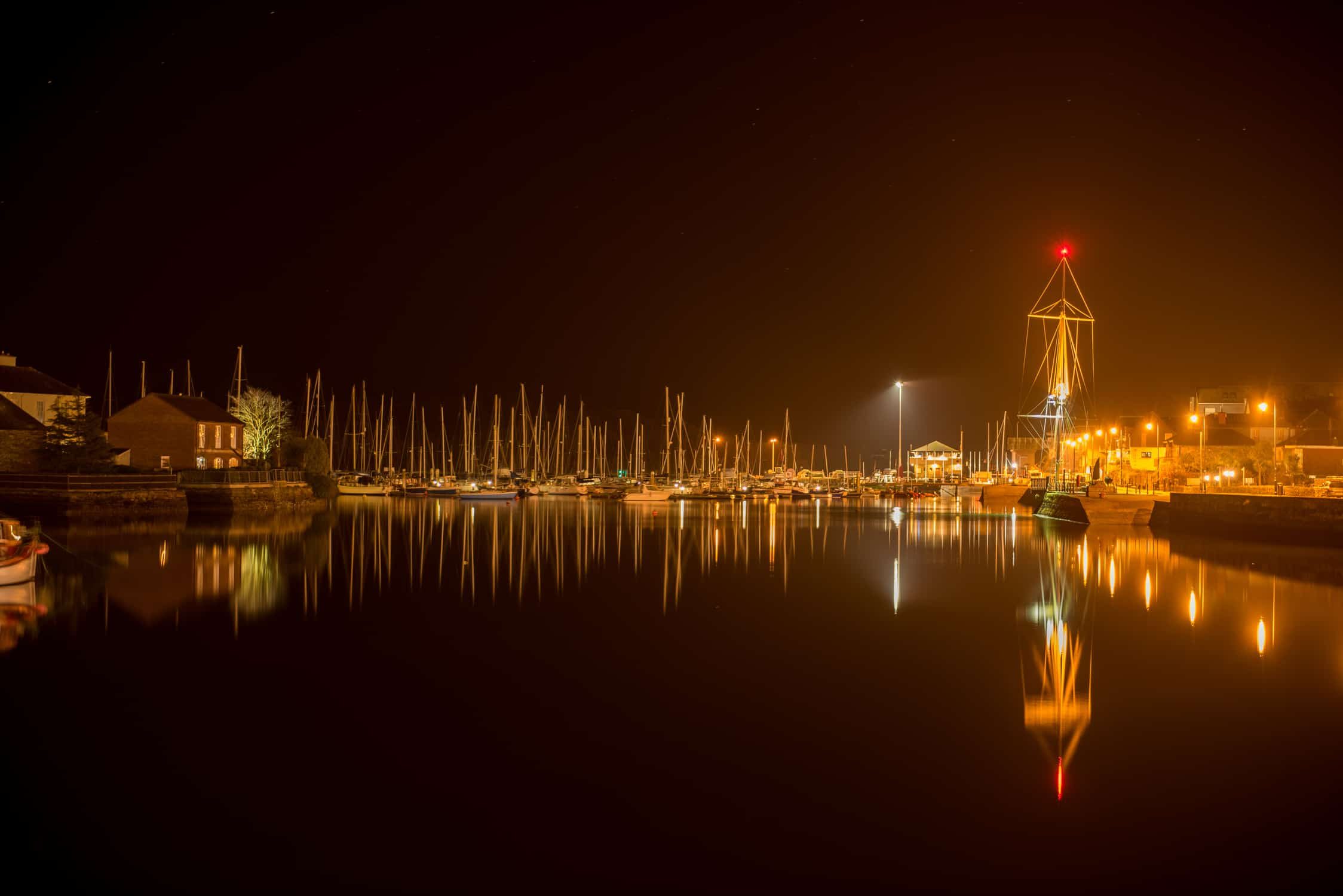 Kinsale night time photography
